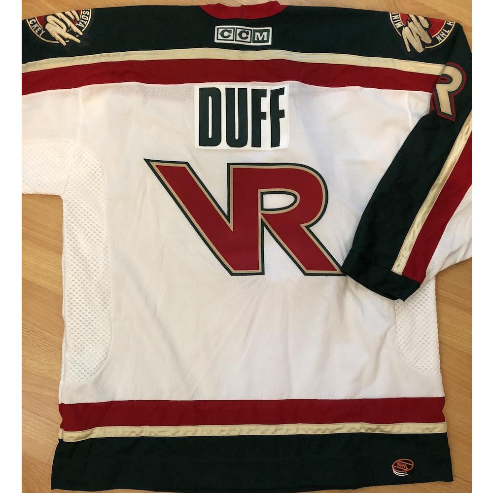 official photos 35e5e 20908 Duff McKagan's Minnesota Wild Hockey Jersey